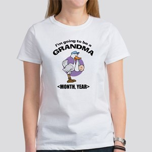 Grandma To Be Personalized Women's T-Shirt