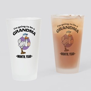 Grandma To Be Personalized Drinking Glass