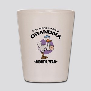 Grandma To Be Personalized Shot Glass