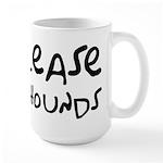 Release The Hounds Large Mug