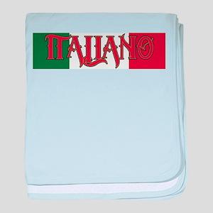 Italiano baby blanket