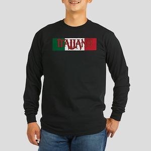 Italiano Long Sleeve Dark T-Shirt