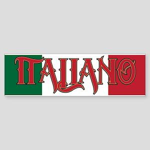 Italiano Sticker (Bumper)