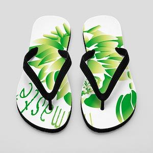 Go Green Lotus Flip Flops