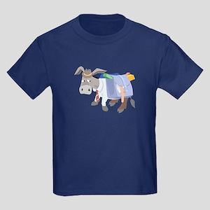 School Donkey (Dark) - Kids T-Shirt