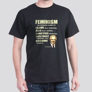 Pat Robertson Quote - Feminism encourages women Bl