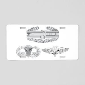 CAB Airborne Rigger Aluminum License Plate