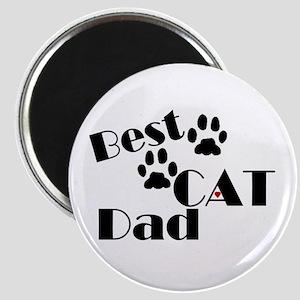 Best Cat Dad Magnet