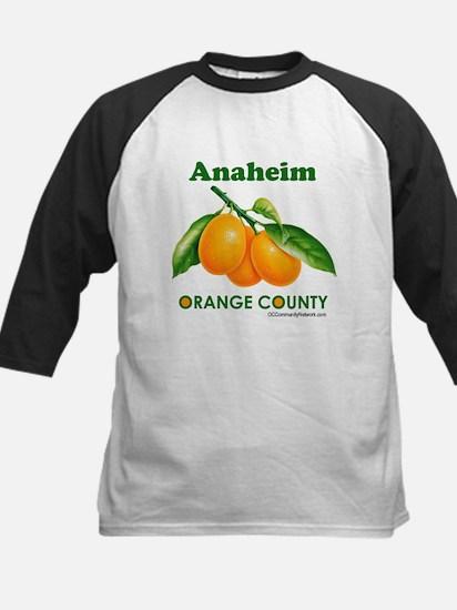 Anaheim, Orange County Kids Baseball Jersey