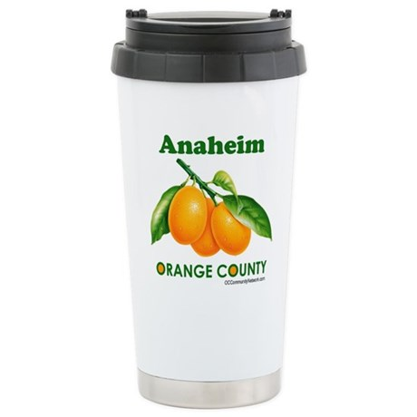 Anaheim, Orange County Stainless Steel Travel Mug