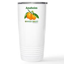 Anaheim, Orange County Stainless Steel Travel Mug