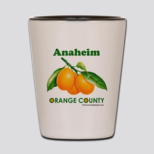 Anaheim, Orange County Shot Glass