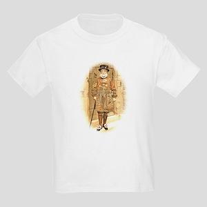 Beefeater, Antique Illustration Kids Light T-Shirt