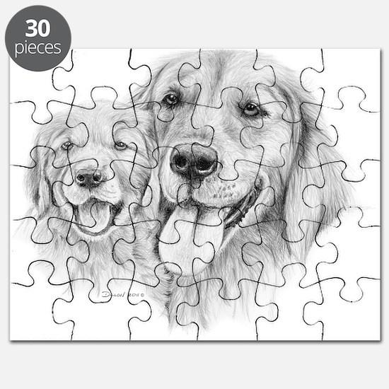 Golden Retrievers Puzzle