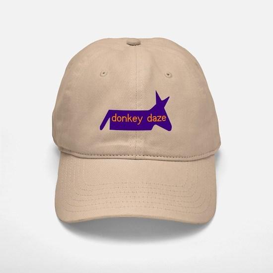 'Donkey Daze' Khaki Baseball Baseball Cap