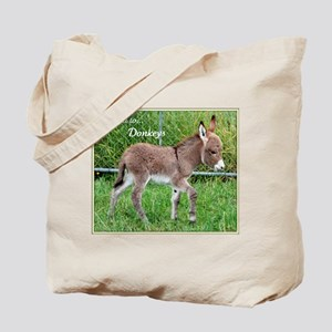 'Devoted to Donkeys' Tote Bag