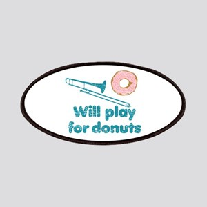 Will Play Trombone for Donuts Patches