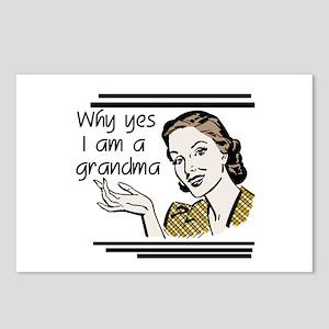 Retro Grandma Postcards (Package of 8)