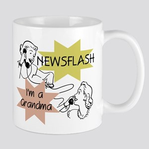 Newsflash I'm a Grandma Mug