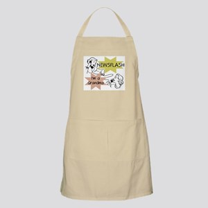 Newsflash I'm a Grandma Apron
