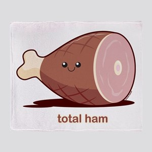 Total Ham Throw Blanket