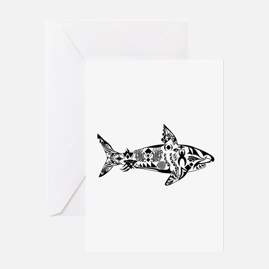 SHALLOW CRUISE Greeting Cards