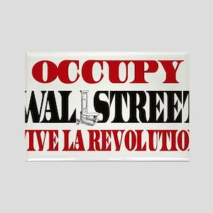 Vive La Revolution Rectangle Magnet