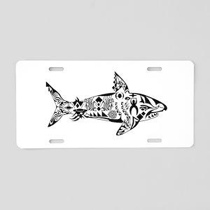 SHALLOW CRUISE Aluminum License Plate