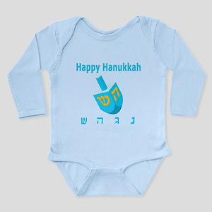 Dreidel Long Sleeve Infant Bodysuit