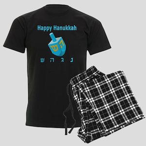 Dreidel Men's Dark Pajamas