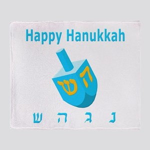 Dreidel Throw Blanket