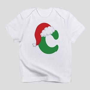 Christmas Letter C Alphabet Infant T-Shirt
