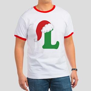 Christmas Letter L Alphabet Ringer T