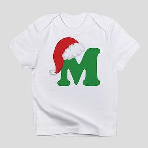 Christmas Letter M Alphabet Infant T-Shirt