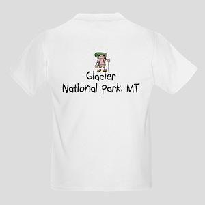 Glacier National Park (Boy) Kids Light T-Shirt