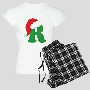 Christmas Letter R Alphabet Women's Light Pajamas