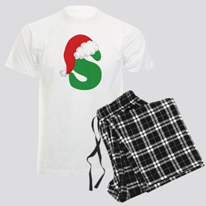 Christmas Letter S Alphabet Men's Light Pajamas