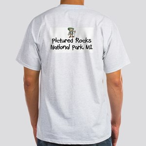 Pictured Rocks Nat Park (Boy) Light T-Shirt