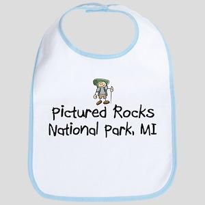 Pictured Rocks Nat Park (Boy) Bib