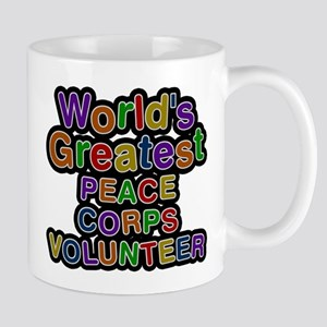 Worlds Greatest PEACE CORPS VOLUNTEER Mugs