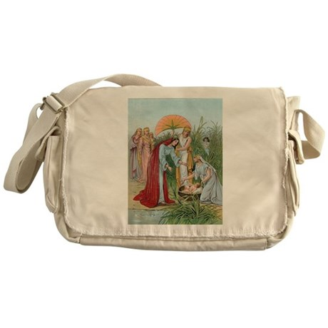 Moses in the River Messenger Bag