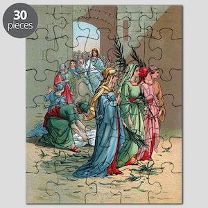 Jesus enters Jerusalem Puzzle