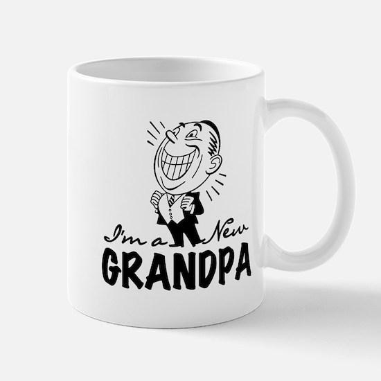 Smiling New Grandpa Mug