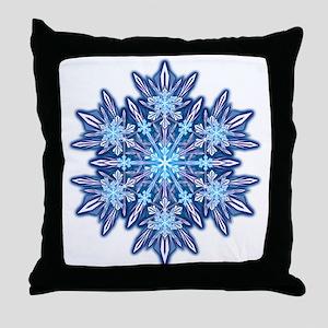 Snowflake 12 Throw Pillow