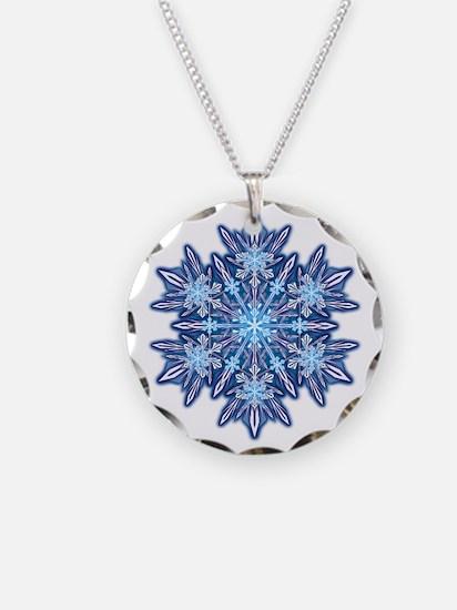 Snowflake 12 Necklace