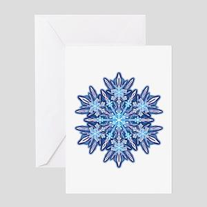 Snowflake 12 Greeting Card