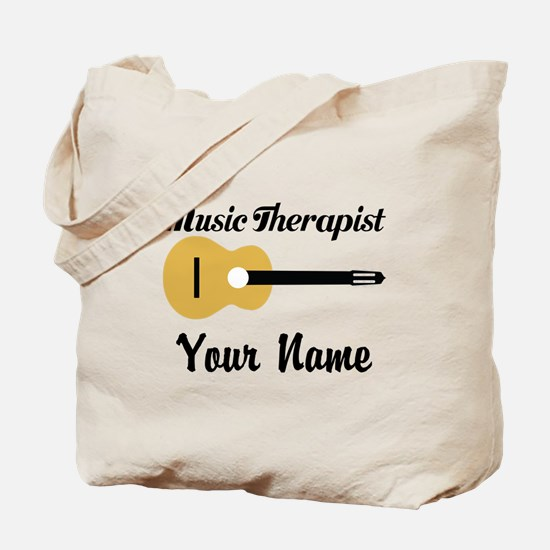 Personalized Music Therapist Tote Bag