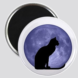 Cat & Moon Magnet
