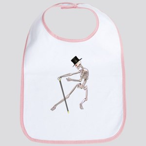 The Dancing Skeleton Bib