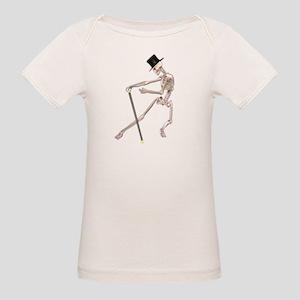 The Dancing Skeleton Organic Baby T-Shirt